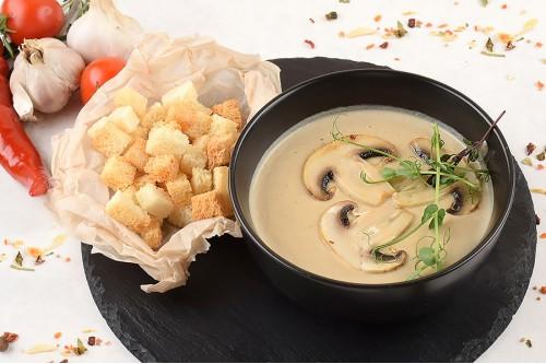 Крем- суп из шампиньонов