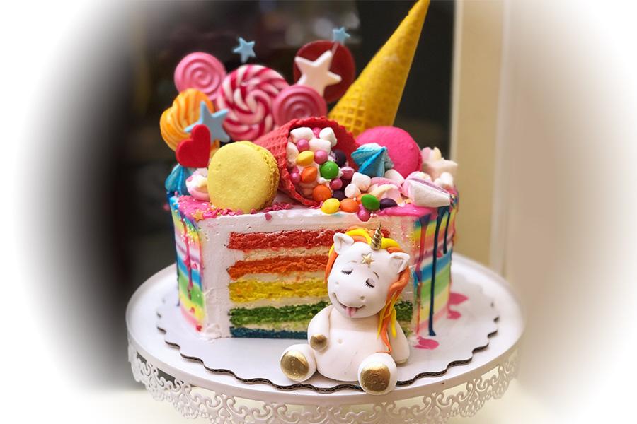 Торт Единорожка обжорка