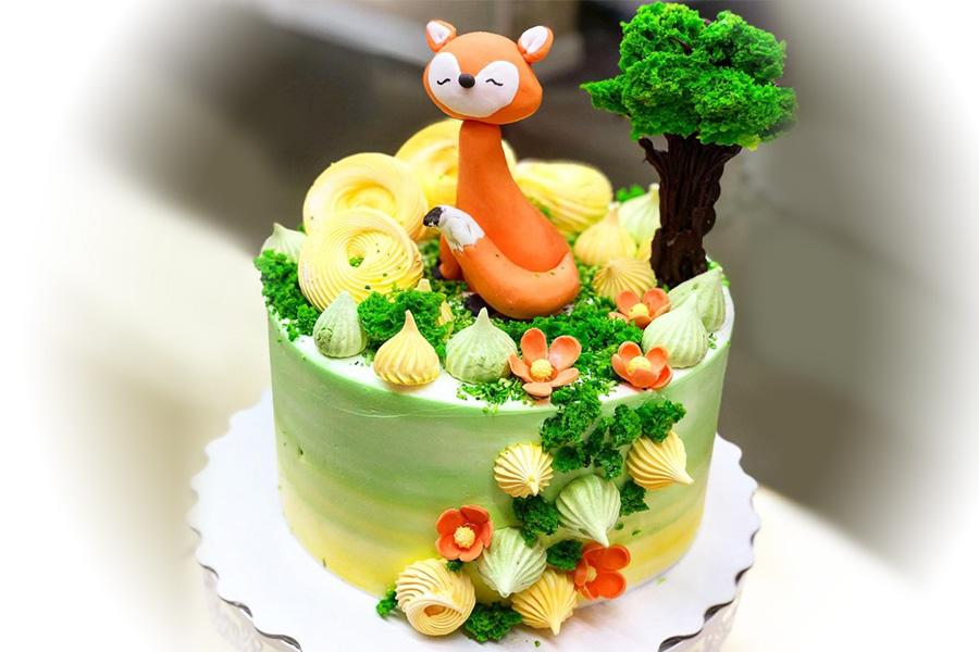 Торт Лисичка