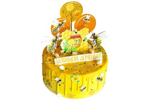 Торт Пчелка