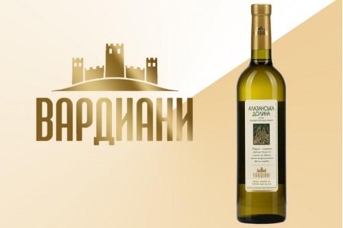 Вино белое Алазанская долина полусладкое