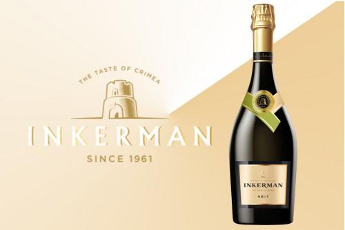 Шампанское Инкерман Брют
