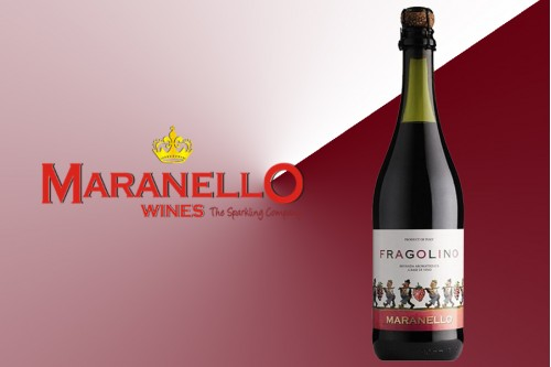 Шампанское Фраголино красное полусладкое