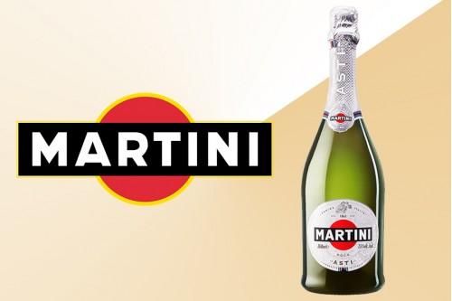 Шампанское Asti Martini белое полусладкое
