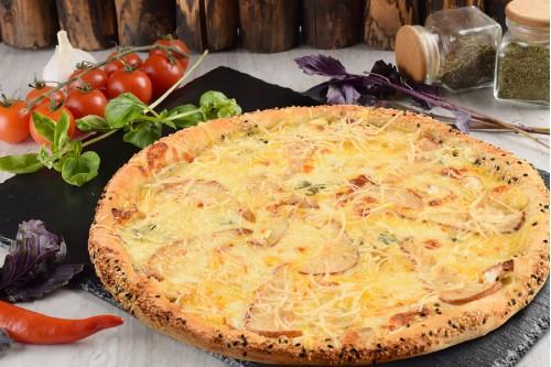 Пицца Пять сыров с грушей