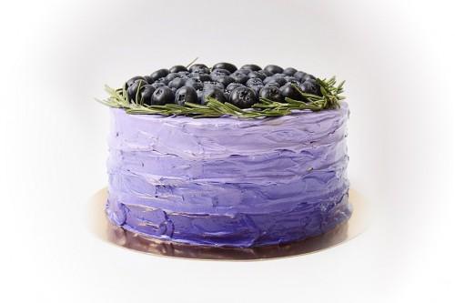 Торт Голубика