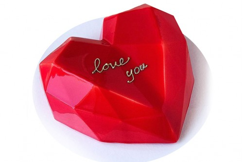 Торт Красное сердце