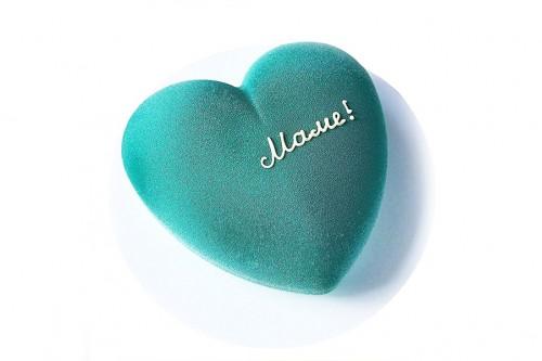 Торт Бирюзовое сердце