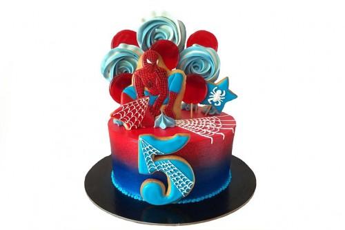Торт Человек-паук