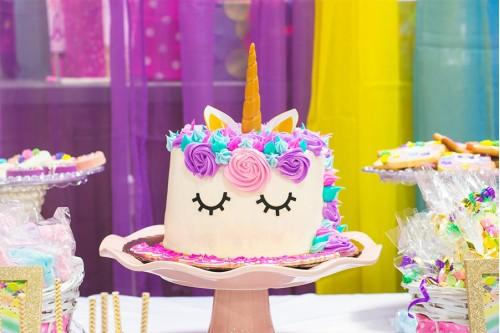 Торт Единорожка