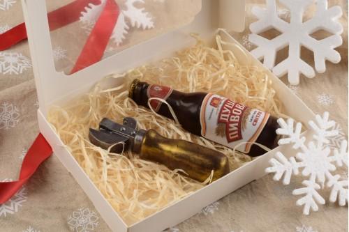 Шоколадный набор Бутылка с открывалкой